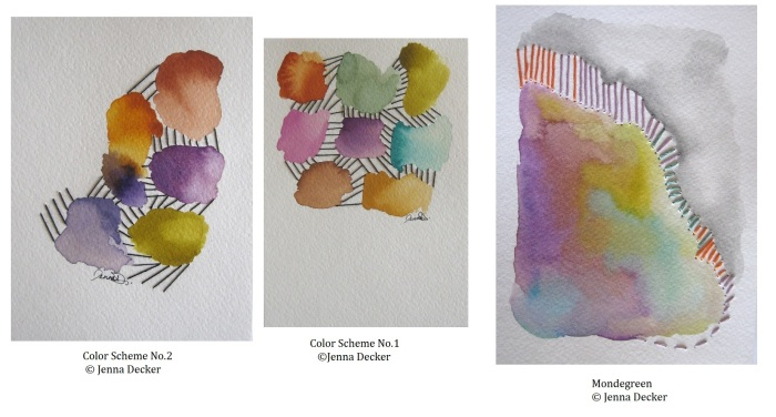 Color Scheme No 1, 2, &Mondegreen Jenna Decker