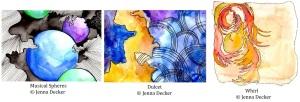 Musical Spheres, Dulcet, Whirl Jenna Decker