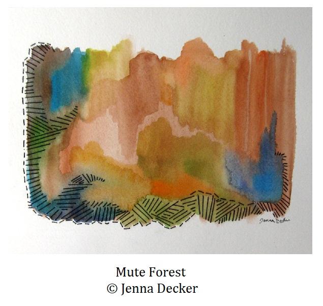 Mute Forest Jenna Decker