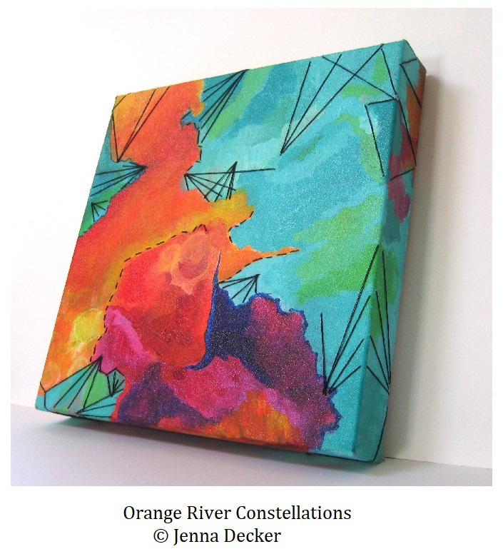 Orange River Constellations Jenna Decker