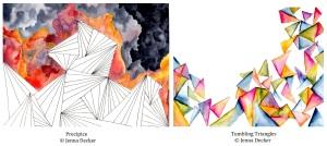 Precipice, Tumbling Triangles Jenna Decker