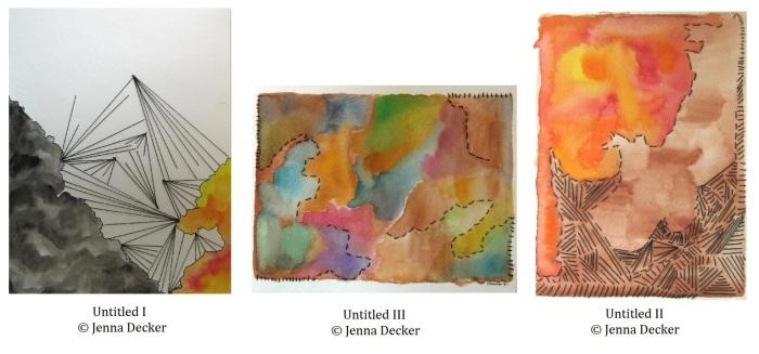 Untitled I, II, III Jenna Decker