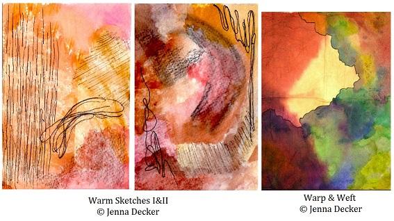 Warm Sketch, Warp and Weft Jenna Decker sm