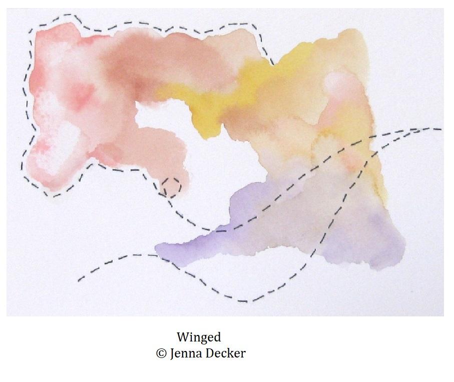 Winged Jenna Decker